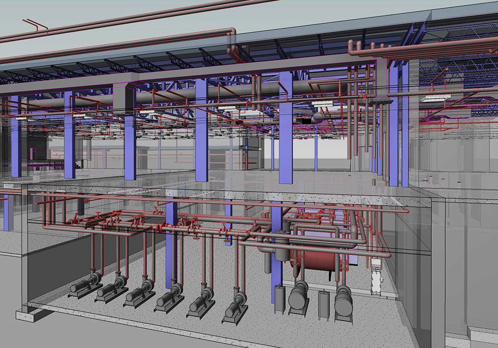 2D And 3D CAD Revit MEP Software