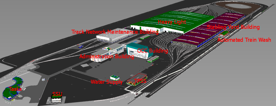LRT3 Depot Full 3D
