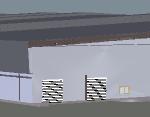 Depot Heavy Light Building 3D View 1