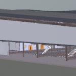 Depot Heavy Light Building 3D View 2
