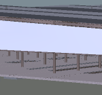 Depot Heavy Light Building 3D View 3