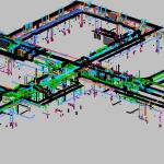HSU MEP 3D View 1