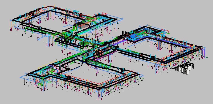 HSU MEP 3D View 2
