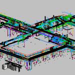 HSU MEP 3D View 3