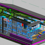 HSU MEP Header Pump Area 3D View 1