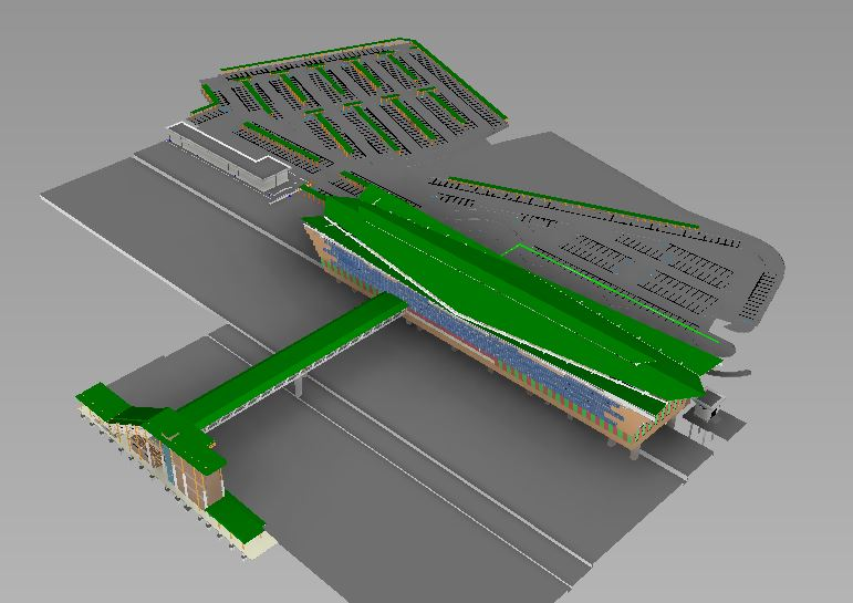 LRT3 ISLAND STATION 3D VIEW