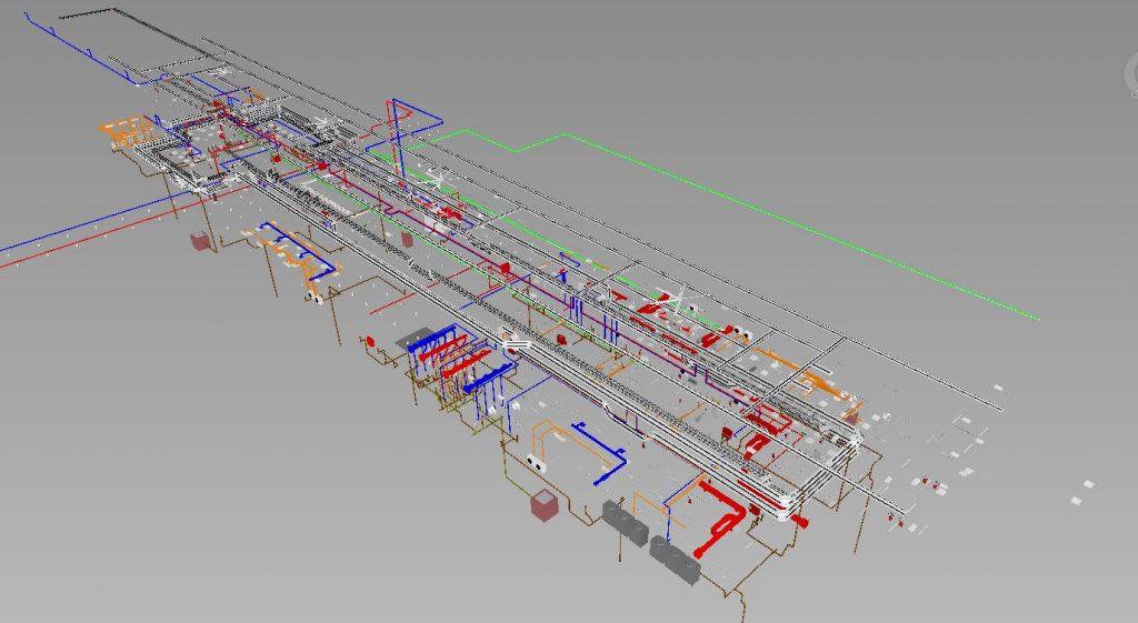LRT3 ISLAND STATION 3D VIEW MEP
