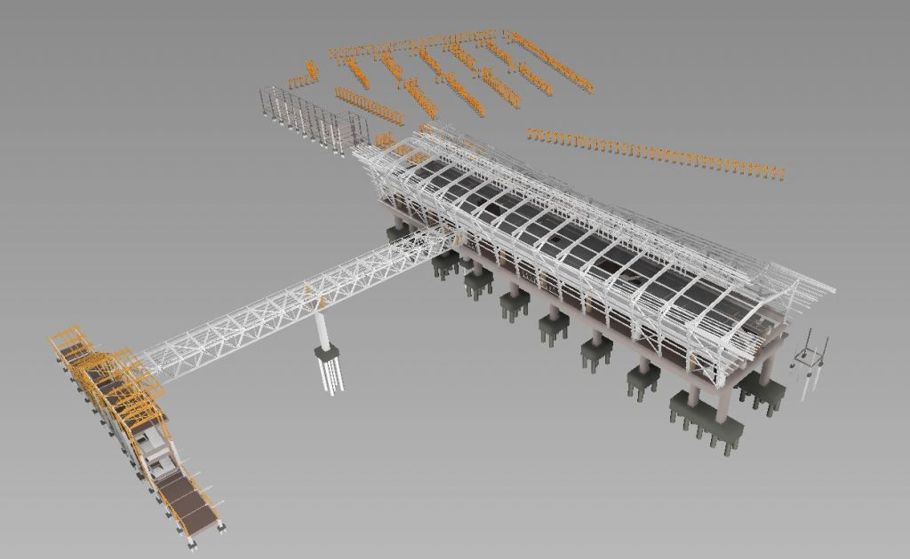 LRT3 ISLAND STATION 3D VIEW STRUCTURE