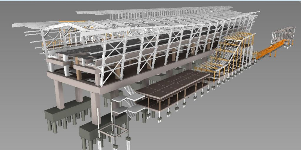 LRT3 ISLAND STATION 3D VIEW STRUCTURE2