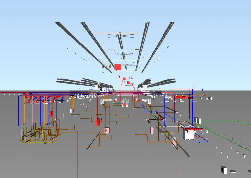 LRT3 ISLAND STATION LEFT VIEW MEP