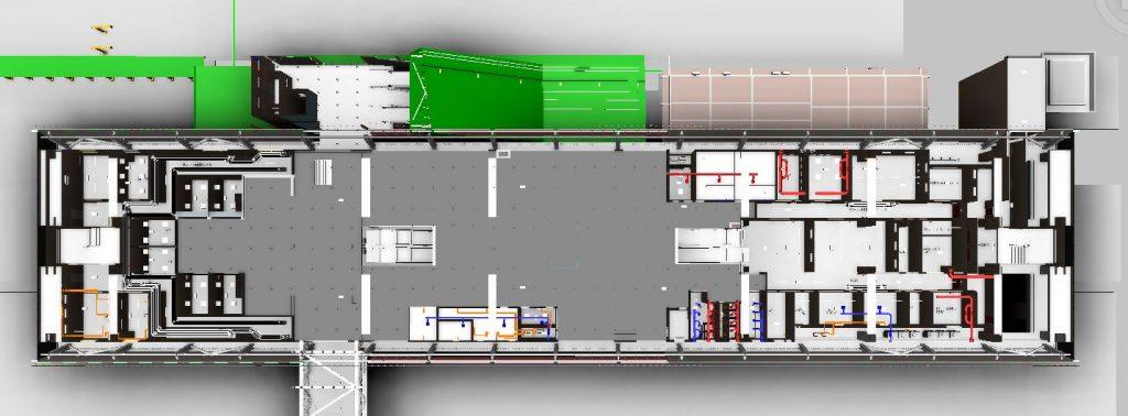 LRT3 ISLAND STATION PLAN VIEW MEP