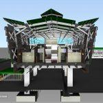 LRT3 ISLAND STATION RIGHT VIEW