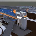 LRT3 SIDE PLATFORM STATION 3D VIEW
