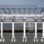 LRT3 SIDE PLATFORM STATION ELEVATION VIEW3 STRUCTURE