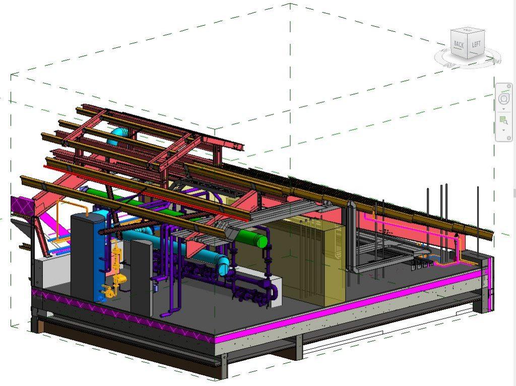 MSU MEP 3D HEADER PUMP AREA 3